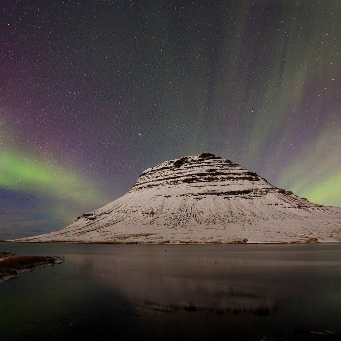 NORTHERN LIGTHS in West Iceland