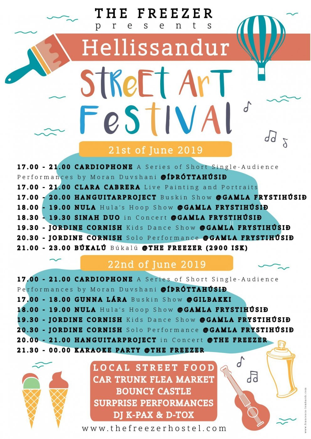 Street Art Festival in Hellissandur 21st - 22nd June