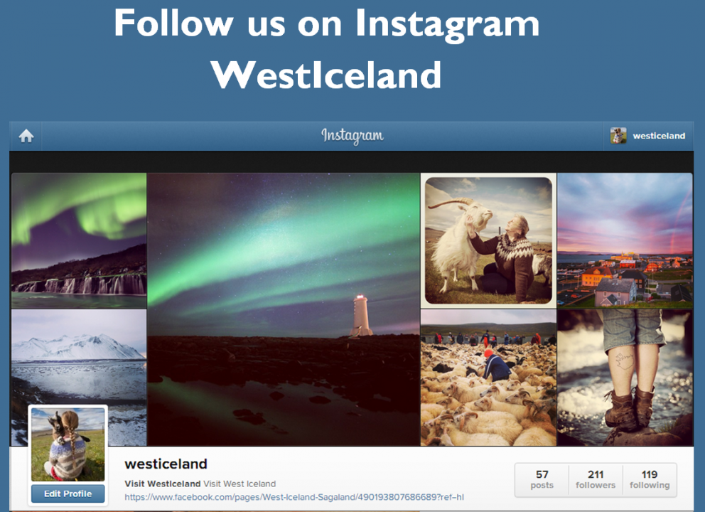 West Iceland Instagram
